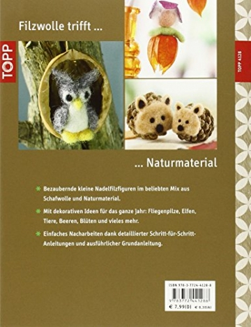 Filz-Minis ganz natürlich: Dekorative Figuren aus Filzwolle und Naturmaterial (kreativ.kompakt.) - 2