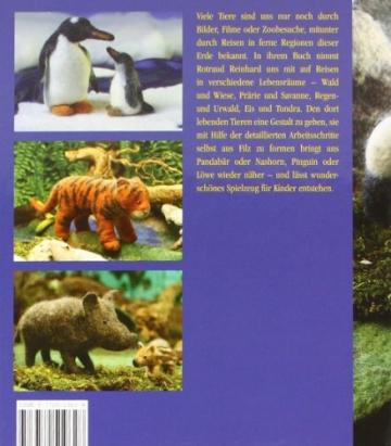 Filzen von Tieren aus aller Welt - 2
