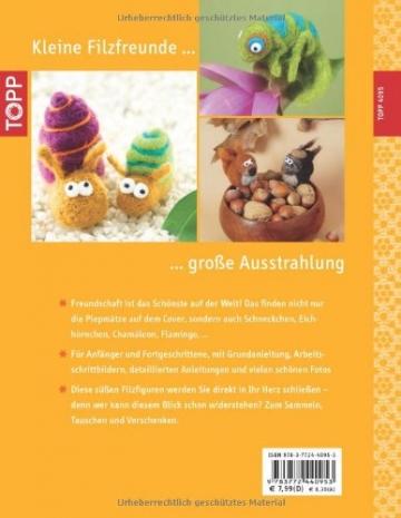 Kunterbunte Filz-Freunde: mit Liebe und Nadel gefilzt (kreativ.kompakt.) - 2